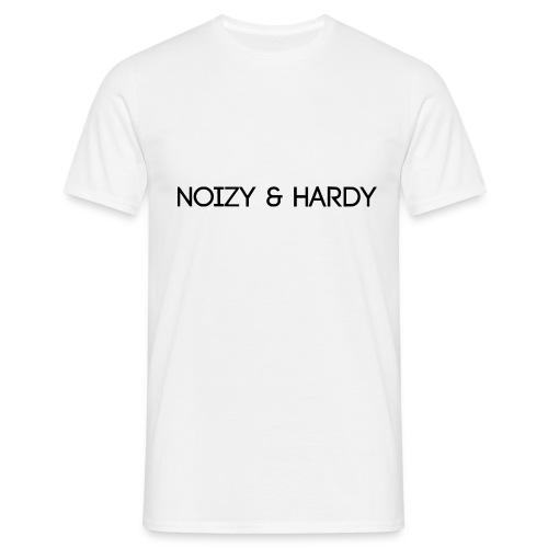 Noizy & Hardy Logo - Männer T-Shirt