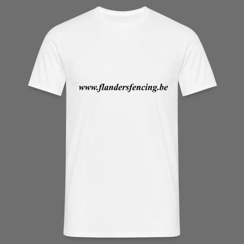 wwww.flandersfencing.be - Mannen T-shirt