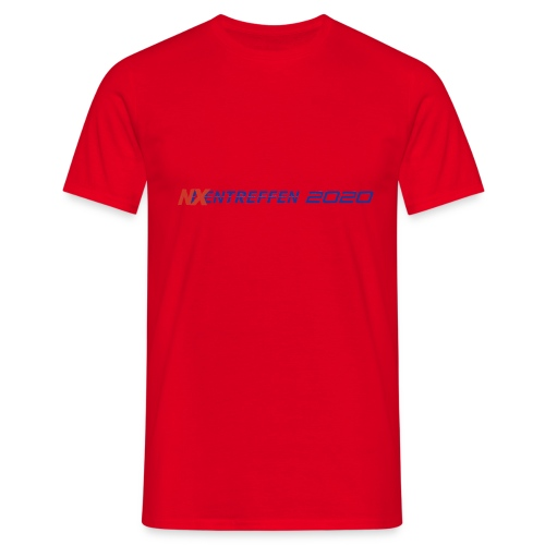 nixentreffen 2020 - Mannen T-shirt