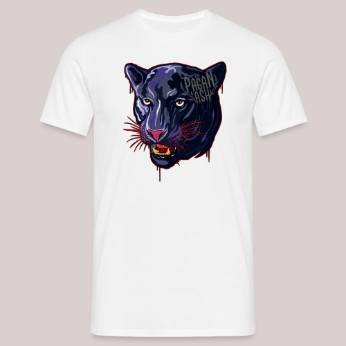 The Pagan Ash Panther - T-shirt herr