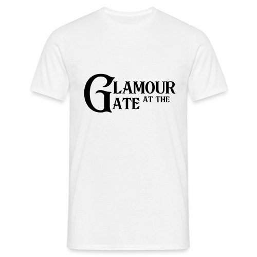 LOGO Glamour at the Gate Noir - T-shirt Homme