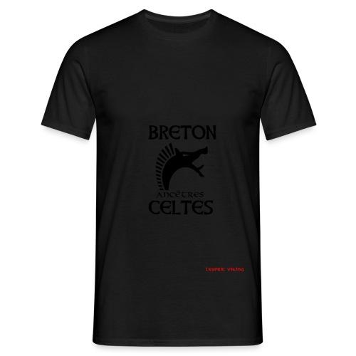 BRETAnc CeltesCARNYXblack - T-shirt Homme