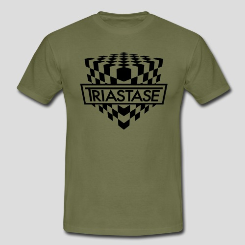 Triastase Logo Black - Men's T-Shirt