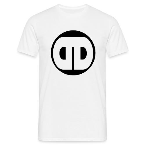 DDz Logo Black - No Text - Men's T-Shirt