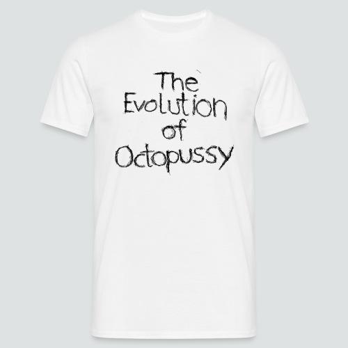 Evoctopussy png - Männer T-Shirt