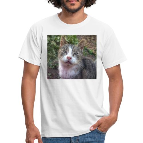 Katze Max - Männer T-Shirt