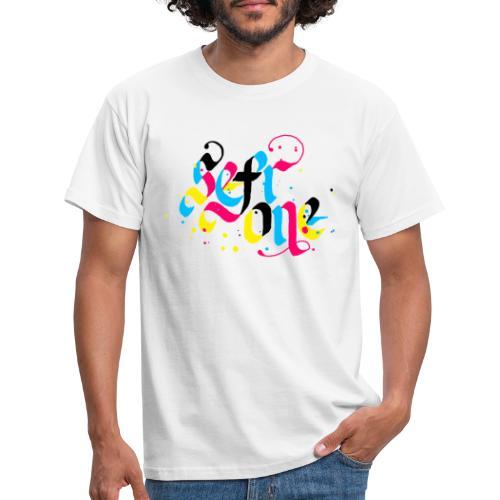 SefrOne X CMYK - T-skjorte for menn