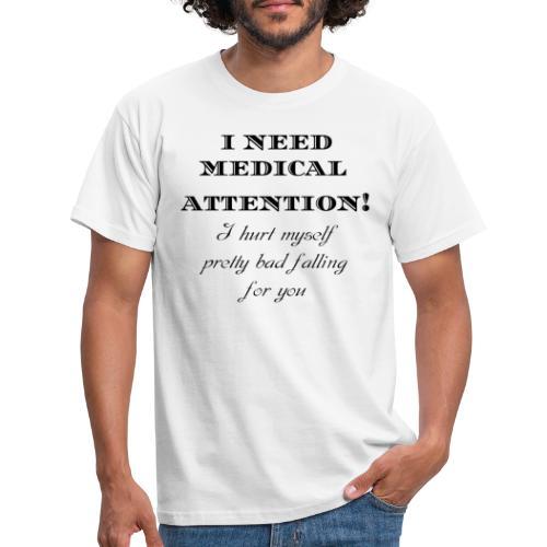 Attention - Miesten t-paita
