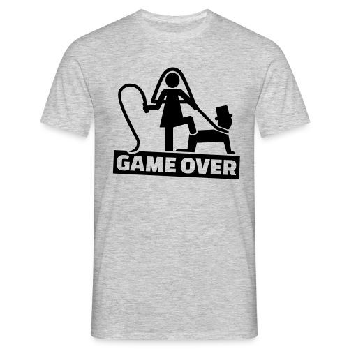Game Over Vrijgezellenfeest - Mannen T-shirt