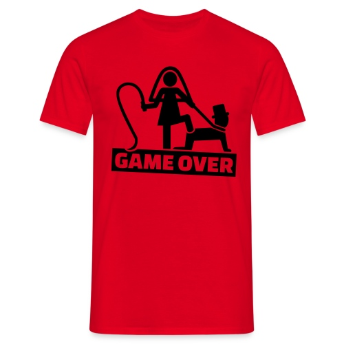 Game Over Vrijgezellenfeest - Mannen T-shirt