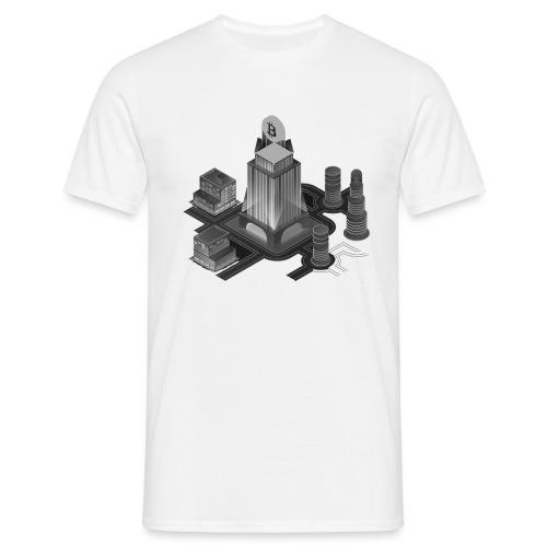 Cryptocurrency - Bitcoin Tower (BTC) - Männer T-Shirt