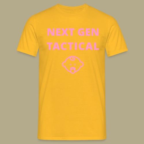 Tactical Baby Girl - Mannen T-shirt