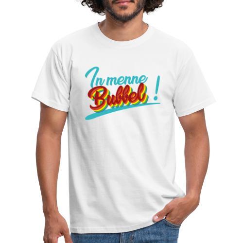 In menne bubbel - Mannen T-shirt