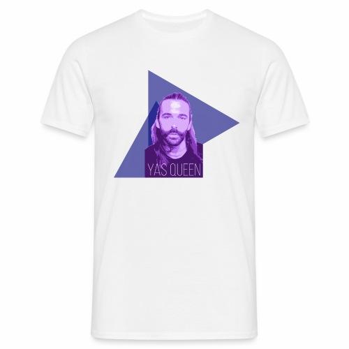 Johnathan Van Ness says YAS QUEEN - Men's T-Shirt