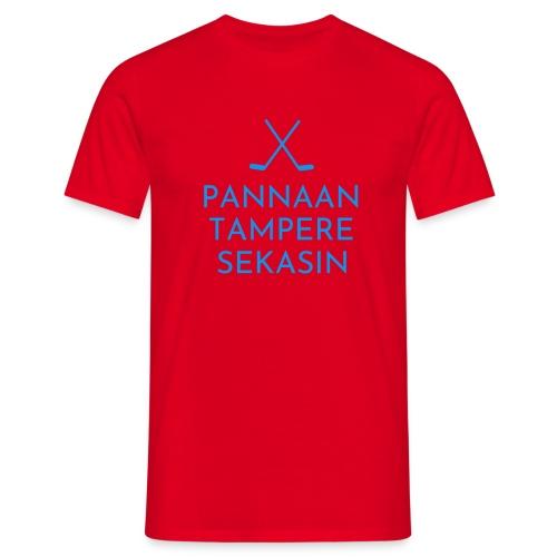 Pannaan Tampere Sekasin - Miesten t-paita