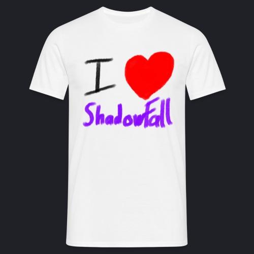 I heart shadowfall - Men's T-Shirt