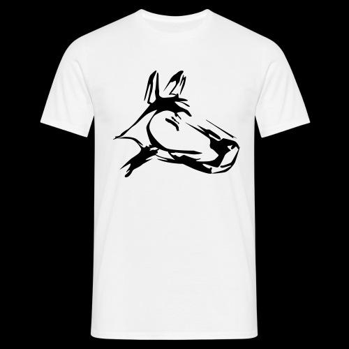 der hund 10 x 10 - Männer T-Shirt