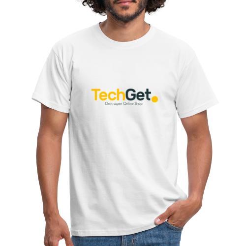 TechGet Marken Logo - Männer T-Shirt