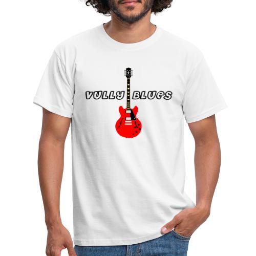 Guitare avec texte Vully Blues classique noir - Männer T-Shirt