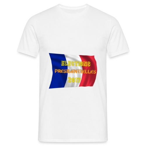 ELECTIONS 2017 - T-shirt Homme