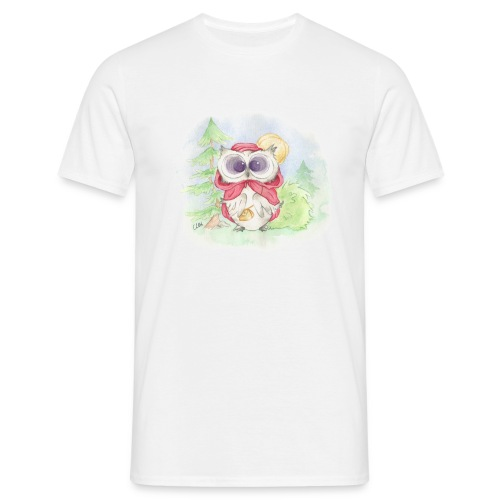 Little Red Riding ... HOOT?! - Männer T-Shirt