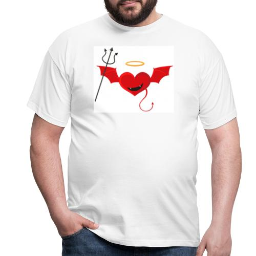 Red Heart Devil - Koszulka męska