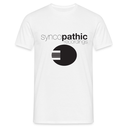 Syncopathic Black - Men's T-Shirt
