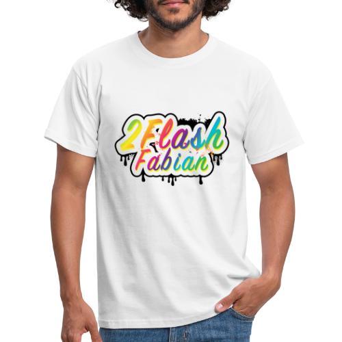 2Flash Fabian weiß - Männer T-Shirt