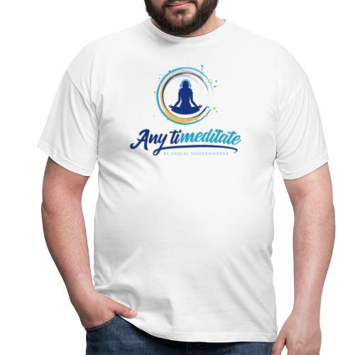 Any timeditate by Pascal Voggenhuber - Männer T-Shirt