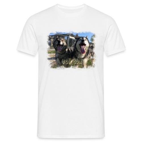 Voll toll - Männer T-Shirt