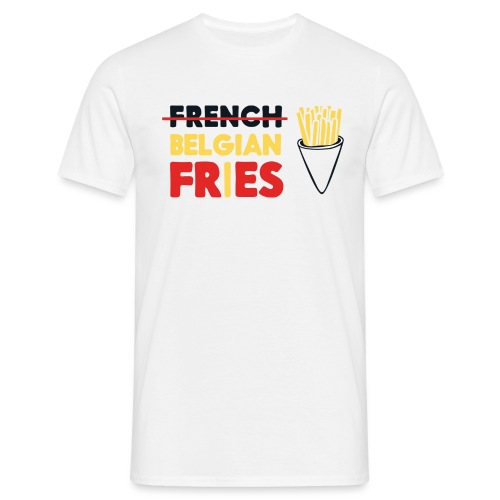 Vote for Belgian Fries - T-shirt Homme