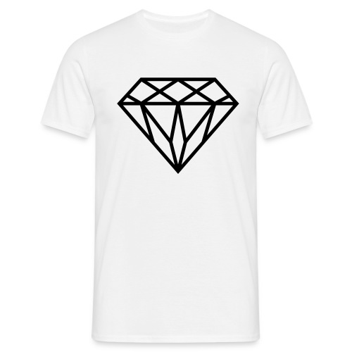 Diamond Graphic // Diamant Grafik - Männer T-Shirt