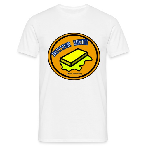 Butter Meth Logo png - Men's T-Shirt