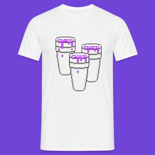 Purple - Maglietta da uomo