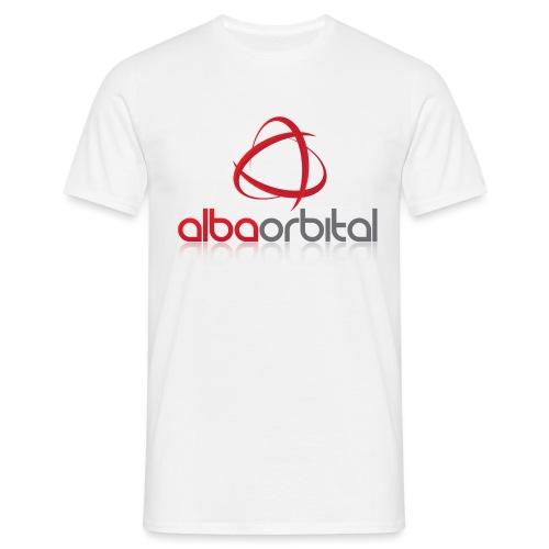 Alba Orbital's Offical Logo - Men's T-Shirt