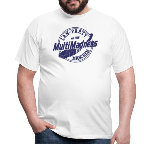 MMM Logo - modern weiß - Männer T-Shirt