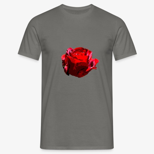 Red Rose - Männer T-Shirt