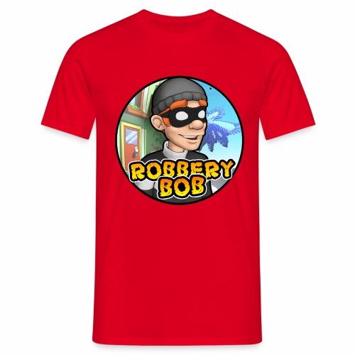 Robbery Bob Button - Men's T-Shirt