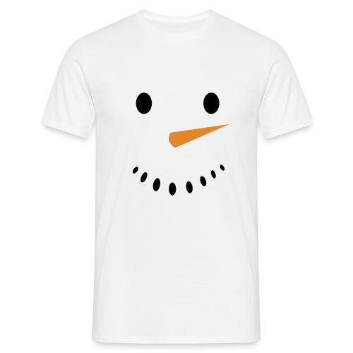 Bonhomme de neige Noël Hiver - T-shirt Homme