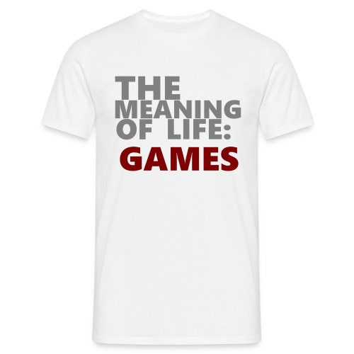 T-Shirt The Meaning of Life - Mannen T-shirt