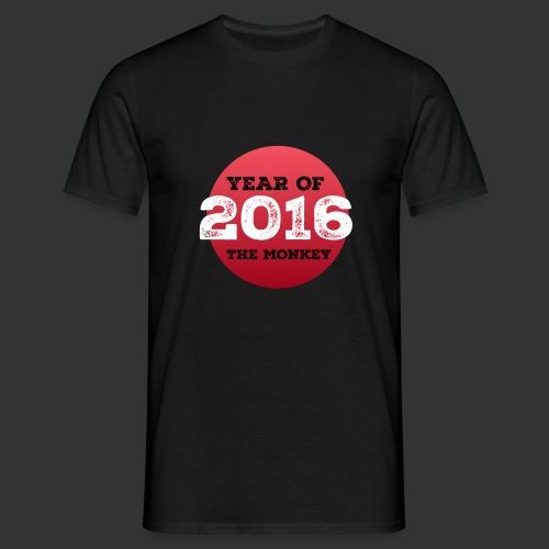 2016 year of the monkey - Men's T-Shirt