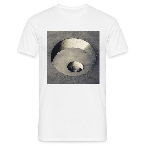 rings of holes - Maglietta da uomo