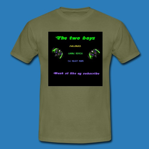LUISJAKUBINTRO-jpg - Herre-T-shirt