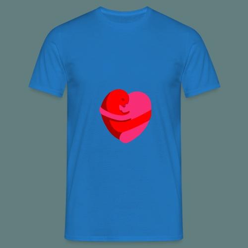 hearts hug - Maglietta da uomo