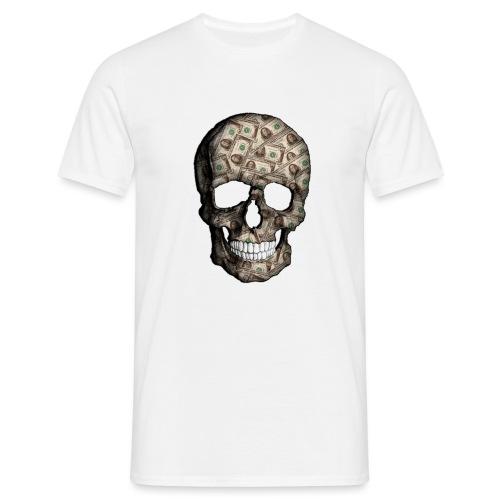 Skull Money - Camiseta hombre