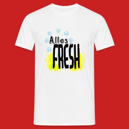 Alles Fresh / Frisch Sommer Eis - Männer T-Shirt