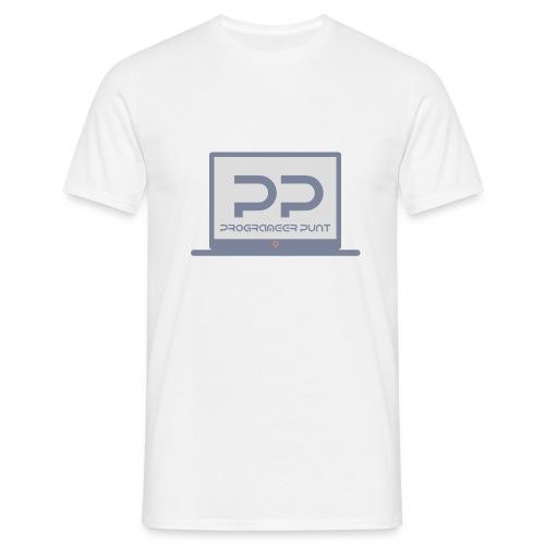muismat met logo - Mannen T-shirt