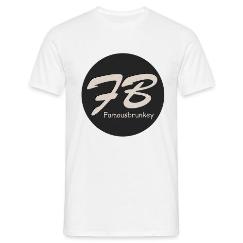 TSHIRT-FAMOUSBRUNKEY - Mannen T-shirt