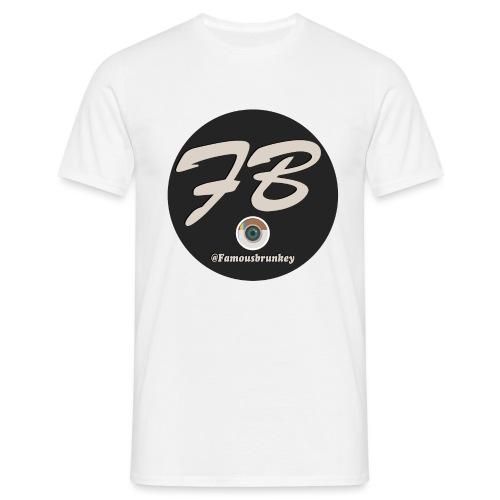 TSHIRT-INSTATUBER-METLOGO - Mannen T-shirt