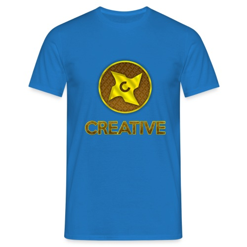 Creative logo shirt - Herre-T-shirt